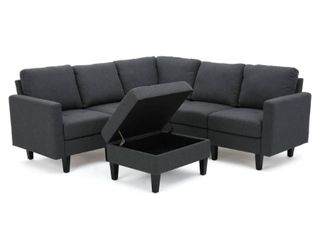 INCOMPlETE Zahra 4 piece Sofa Sectional by Christopher Knight Home