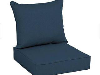 Arden selections acrylic Indigo lennon outdoor cushions
