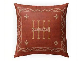 Amulet Kilian Rust Indoor  Outdoor Square pillow