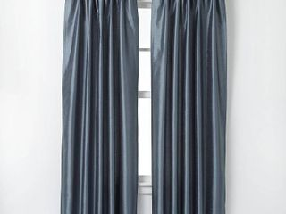 144 x30  Marquee lined Room Darkening Curtain Panel Teal   Curtainworks