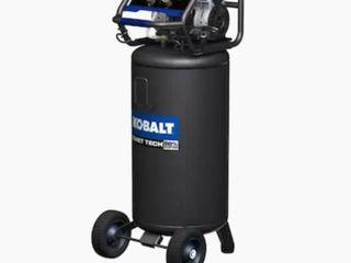 Kobalt quiet technology 26 gallon 150 max psi vertical Air Compressor