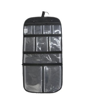 Household Essentials Hanging Cosmetics and Grooming Bag Travel  Black