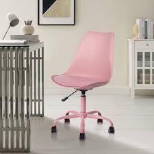 Porch   Den Stringer Molded  Padded Seat Mid century Modern Task Chair  Retail 96 99