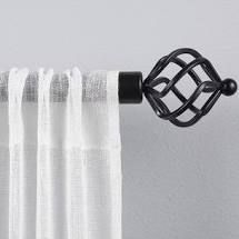 Porch   Den Freret 1 inch Curtain Rod and Finial Set