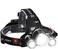 High Power lED Headlamp  4 Modes  2 Rechargeable Batteries