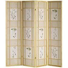 Shoji Natural 4 panel Screen  Retail 154 99