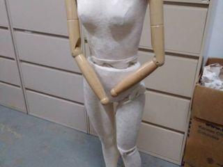 Vintage Female Full Body Mannequin