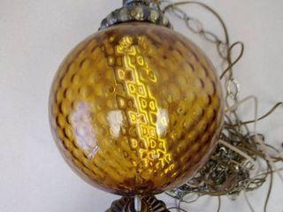 Vintage hanging light