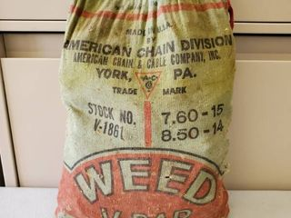 Weed V  Bar American Chain Divison