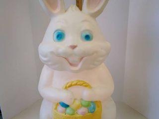 Vintage light up Easter Bunny