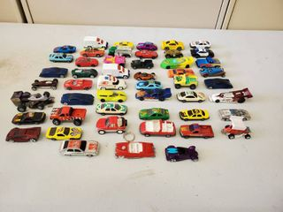 lot of 50 Assorted Race Cars