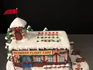 Reindeer Flight Camp from Rudolphas Christmas Town with light