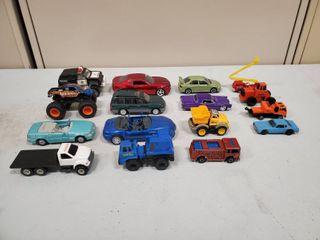 16 Piece Toy Car lot