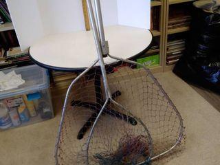 Vintage fishing nets