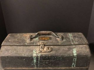 Vintage Walton Production Inc Tool Box