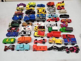 Mega lot of 50 Assorted Vintage Toy Cars