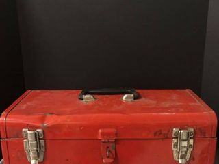 Malco Brand Tool box with Various Tools Inside