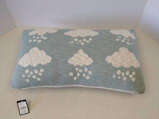 cotton knit Cloud pillow 12 in long