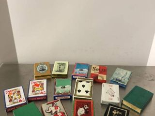 lot of 15 Vintage Playing Cards