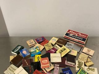 lot of Vintage Matchbooks with Matches