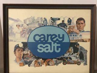 Framed Photo Collage of Carey Salt