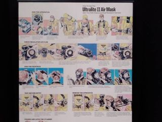 Ultralight Air Mask Poster