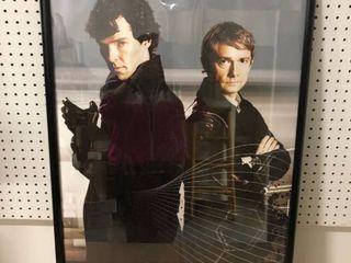 Framed Sherlock Poster