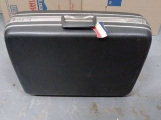 Samsonite hard case suitcase with key