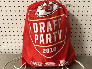 Chiefs Draft Party 2016 Swag Bag