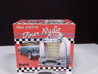 Mini AM FM Diner Radio