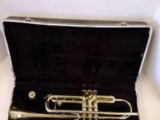 Vintage Trumpet with case