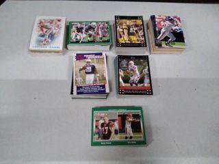 lot of baseball and football Cards