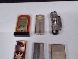 lot of Various lighters