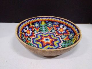 Hand beated Native American bowl