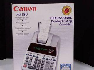 Professional Desktop Printing Calculator