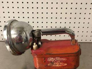 Vintage Big Beam Handled Flood light