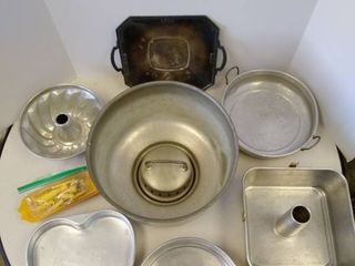 lot of Baking Kitchen Items