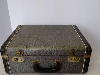 vintage briefcase   work case