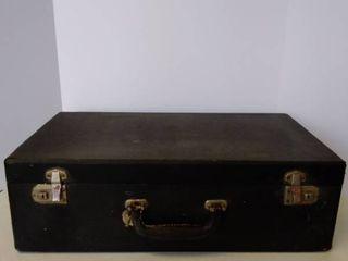 antique   vintage suitcase