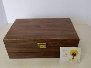 vintage jewel case by Mele