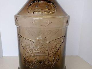 vintage 5 gallon glass bicentennial Eagle jug
