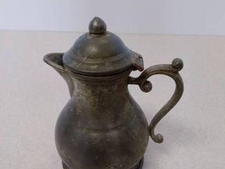 Kings quality pewter creamer by trinac