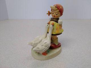 vintage Goebel Hummel Goose girl