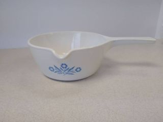 CorningWare blue Cornflower saucepan with lid