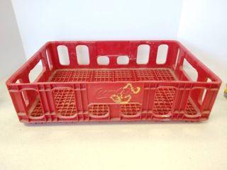 Coca Cola red plastic crate case