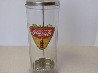 Coca Cola straw dispenser