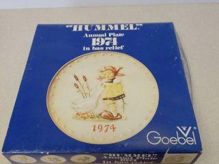 Goebel annual plate 1974