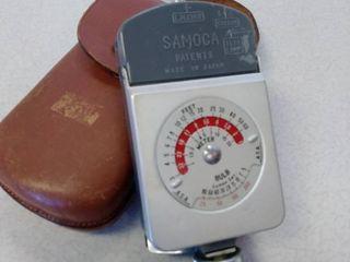 Samoca automat exposure meter Roman slide projector