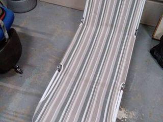 Vintage Aluminum Folding lounge Chair