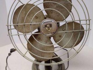 Vintage Emerson Electric Oscillating Fan
